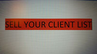 Sell me your Client list