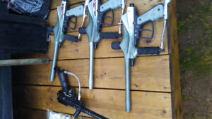 Paintball markers with lots of extras $250 obo