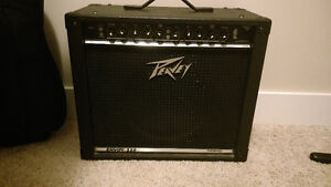 Peavey electric guitar amp and pedal for sale!