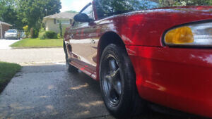 !SOLD! 1996 Mustang modified 4.6L NEEDS WORK !SOLD!