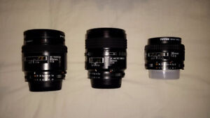 NIKON LENSES - MINT CONDITION
