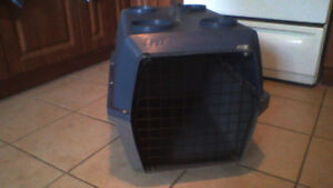 Dog Carrier (Crate) 17 inch tall $25 WOW