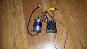 RC esc and motor for 1:10