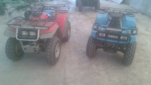 His and hers quads for sale