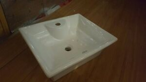 Sit on top of Counter Sink with faucet-----Bought at Home Depot