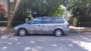 2001 Honda Odyssey Minivan For Sale By Owner