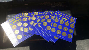 8 Sets Vintage Shell Oil Coins Sets $65 o.b.o.