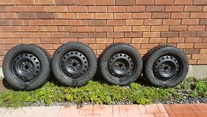 P205/55R16 Winter Tires and Rims For Sale