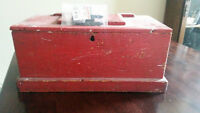 Antique Tool Chest - GREAT COLOUR