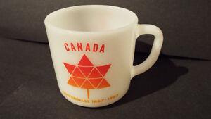2 CANADIAN CENTENNIAL MUGS/SALT&PEPPER London Ontario image 3