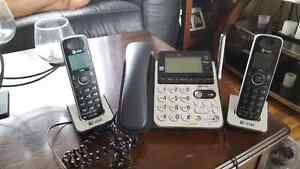 At and t phone with answering machine..