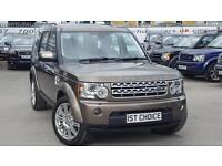 2011 LAND ROVER DISCOVERY 4 SDV6 HSE LOVELY AND STRIKING NARA BRONZE METALL