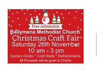 Ballymena Methodist Christmas Craft Fair