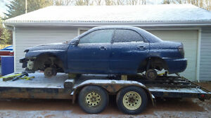 Parting out 2006 Subaru Impreza Sedan