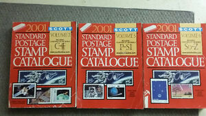 Scott 2001 Standard Postage Stamp Catalogues