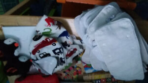Washable diapers, inserts and slippers