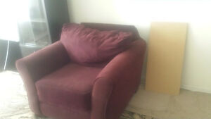 Couch, chair & futon must go asap