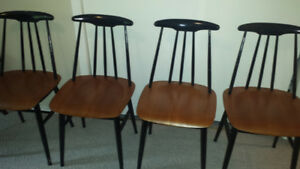 antique chairs mid century