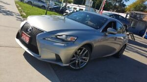 2015 Lexus IS 250 4dr Sdn AWD F Sport Fast and Furious| Fully Lo