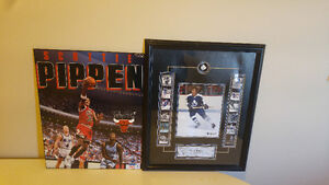 Hockey and basketball poster