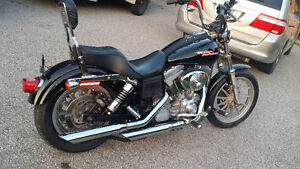 2005 harley dyna superglide. Trades???