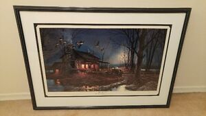 """""""Moonlight Retreat"""" by Terry Redlin Limited Edition 5123 of 5300"""