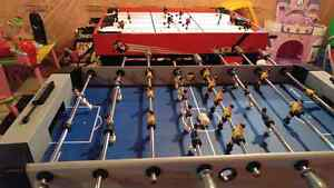 Hockey Table And Foose Ball Table