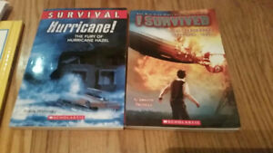 "Lot of 2 ""survival"" chapters books"