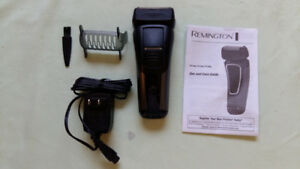 Remington Rechargeable Electric Razor Close Precision Flex Foil