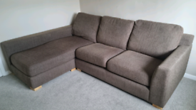 Corner sofa, 3 seater with chaise