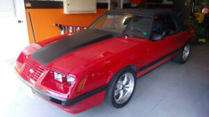 FINAL PRICE DROP!!   1984 MUSTANG CONVERTIBLE