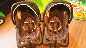 Infant Car Seats (twins) x2. $130 both or $70 each