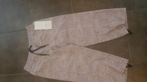 Lululemon Step Lively Crops sz 4 NWT