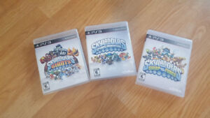 PS3 SKYLANDER GAMES POSTERS AND ACCESSORIES