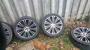 Chrysler 300 s type rims and tires20""