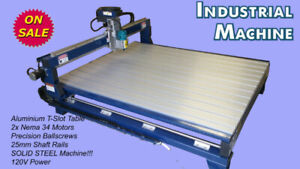 3D New CNC Router Sign making, Wood working machinery computer