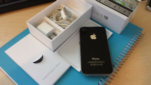 iphone 4s-16gb black color . factory unlocked .