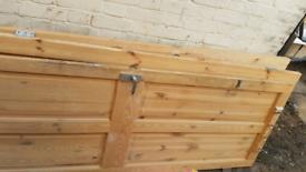 Free pine doors x3 used
