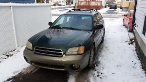 2002 Subaru Legacy Outback $1200 NEGOTIABLE (quebec plated)