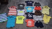 ALL CARTERS SIZE 9 MONTH summer lot