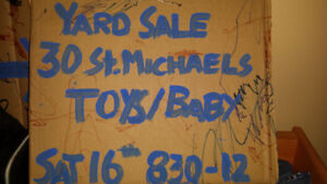 Yard sale - Toys and Baby stuff