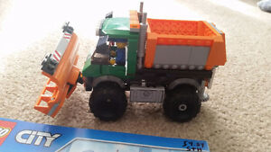Lego city snow plow #60083
