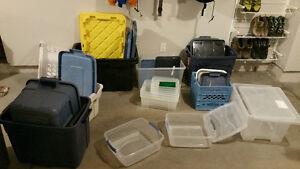 Lots of storage bins - Squamish