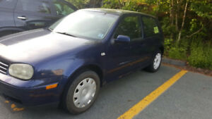 2001 Volkswagen Golf Coupe (2 door)