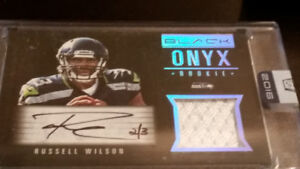 RUSSELL WILSON Rookie Autograph Jersey #'d 2/3: 2016 Honors