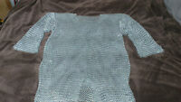 Full Chainmail Armour Top Galvanized Steel Hand Made