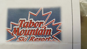 10 day punch card for adult at Tabor mountain resort