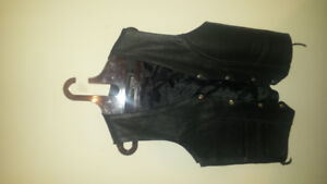 Very nice cruiser by Sofair leather vest