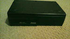 AMP AND 10 DISC CD CHANGER ONE JEEP