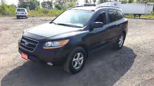 2008 Hyundai Santa Fe LIMITED, ALL WHEEL DRIVE, CERTIFIED